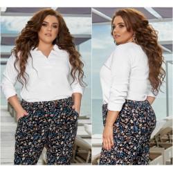 Женская блуза Батал 13462A