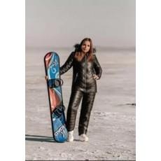 Женские зимние лыжные костюмы и комбинезоны (Батал)